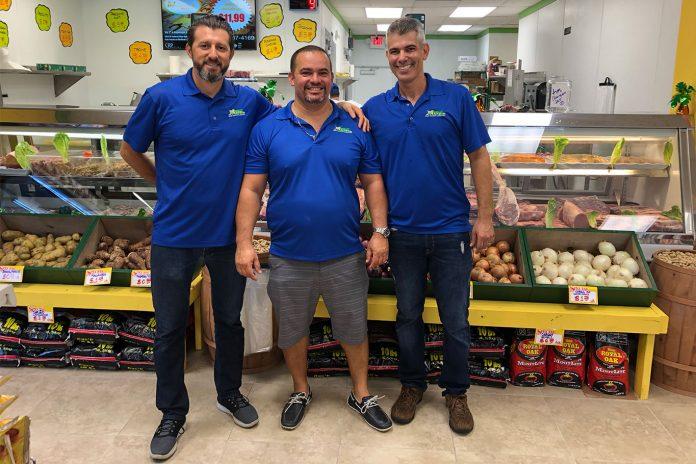 Sandro Lorenzi, Leonardo Soares e Christian Costa