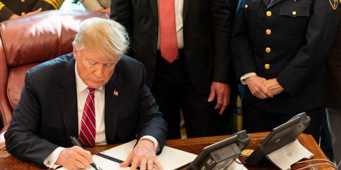 Trump anuncia aumento de tarifas de importação de produtos mexicanos (Foto The White House)
