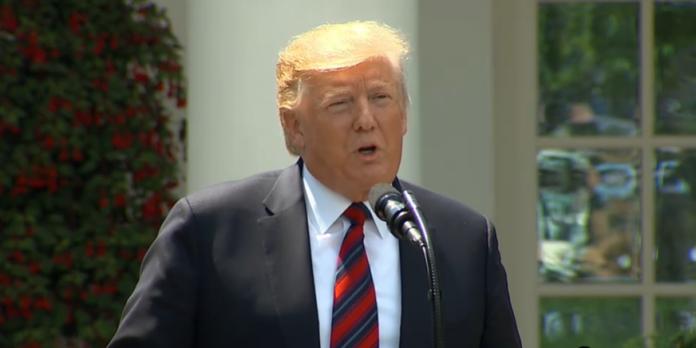Trump discursou sobre proposta imigratória nesta quinta-feira na Casa Branca