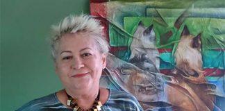 """Naza define o próprio estilo como """"realismo abstrato"""" (Foto: Reprodução Facebook)"""