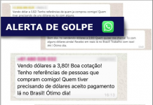 Consulado alerta para golpe do WhatsApp