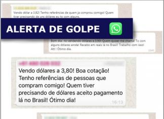 Consulado alerta para golpe do WhatsApp