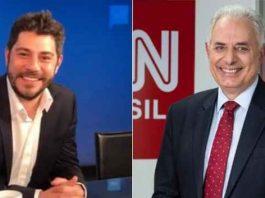 Evaristo Costa e Willian Waack foram contratados pela CNN Brasil