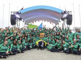 Mais de 480 atletas brasileiros disputam os Jogos Pan-Americanos de Lima (Foto: Wander Roberto/COB)