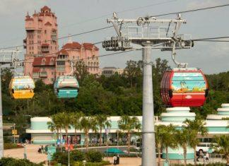 Novo teleférico da Disney será inaugurado em setembro (Foto Blog Disney Parks)