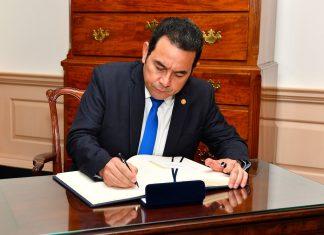 Presidente da Guatemala Jimmy Morales (Foto: Flickr)