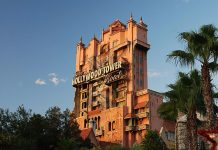 Tower of Terror é uma das atrações mais visitadas do Hollywood Studios da Disney (Foto Wikimedia Commons)