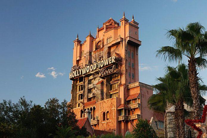 Tower of Terror é uma das atrações mais visitadas do Hollywood Studios da Disney (Foto Wikimedia Commons)