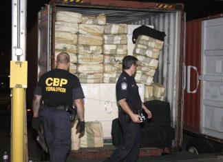 O valor estimado da droga apreendida é superior a um bilhão de dólares (Foto: Steve Sapp)