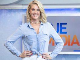 Ana Hickmann vai apresentar a cerimônia de inauguração das novas instalações da RecordTV Americas (Foto: Edu Moraes/Record TV)