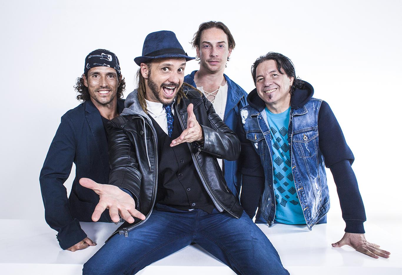 Quarteto do Falamansa tocará maiores hits dos 20 anos de carreira (Foto: Divulgação)