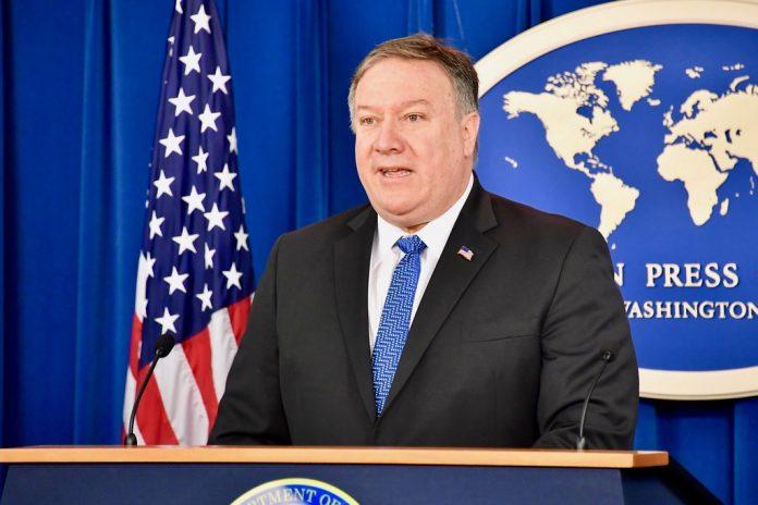 O secretário de Estado dos EUA, Mike Pompeo, disse nesta quinta-feira (19) que o seu país está criando uma coalizão para deter o Irã, mas que pretende encontrar uma saída pacífica (State Department photo/Public Domain)