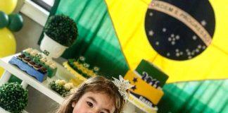 Uma linda festa para celebrar o Dia da Independência do Brasil