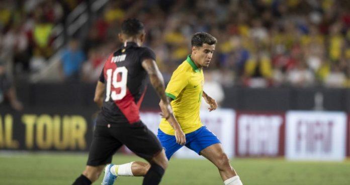 Seleção acabou derrotada pelo Peru (Foto: Lucas Figueiredo/CBF)