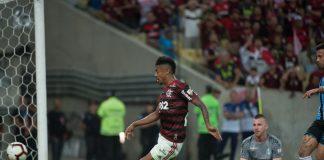 Bruno Henrique abriu o caminho para a goleada do Flamengo no Maracanã (Foto: Flamengo.com.br)