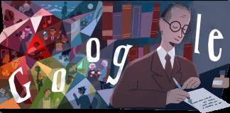 O Doodle do mecanismo de busca (aquelas ilustrações que aparecem na página inicial do Google) lembrou o autor de poemas