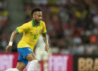 Neymar fez seu 100º jogo pela Seleção Brasileira no amistoso contra Senegal em Singapura