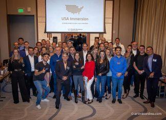 Os participantes do curso fizeram também visitas técnicas a empresas brasieliras no Sul da Flórida (Foto: @artmktonline.com)
