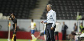 Sob o comando de Tite, a Seleção Brasileira marcou 100 gols em 48 jogos disputados, média de mais de dois gols por partida (Foto: Lucas Figueiredo/CBF)