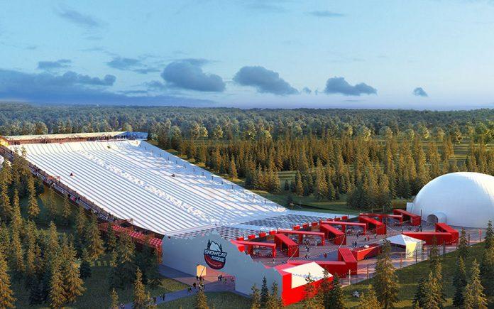 O Snowcat Ridge foi inaugurado mês passado na Flórida Central (foto: divulgação)