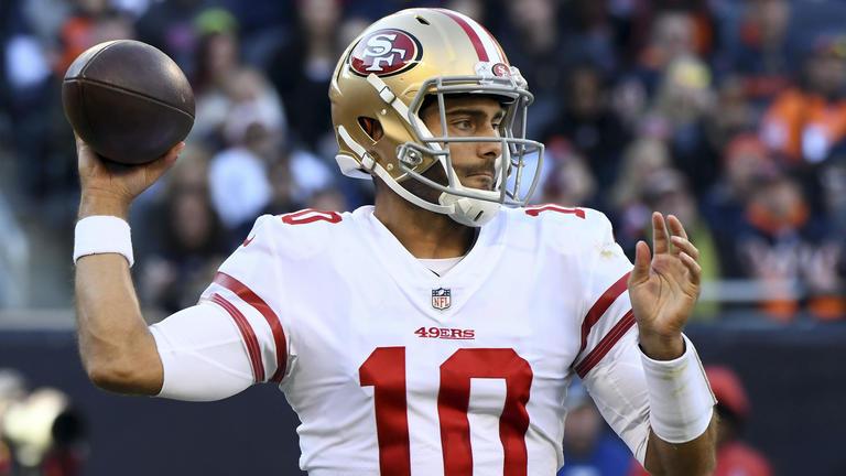 Jimmy Garopolo deixou New England Patriots para brilhar no San Francisco 49ers (Foto: San Francisco 49ers)