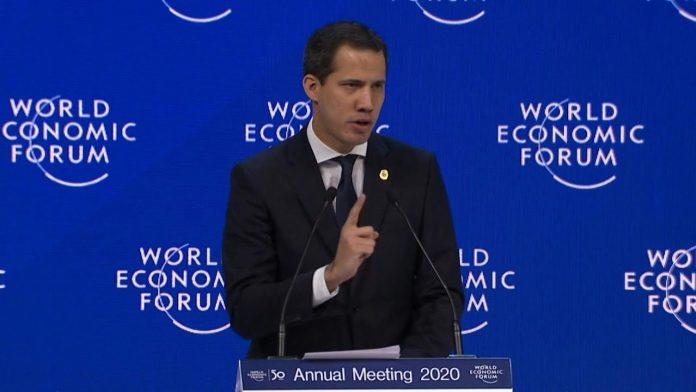 Guaidó diz que a Venezuela enfrenta um período sombrio (Foto: Reprodução – Youtube)
