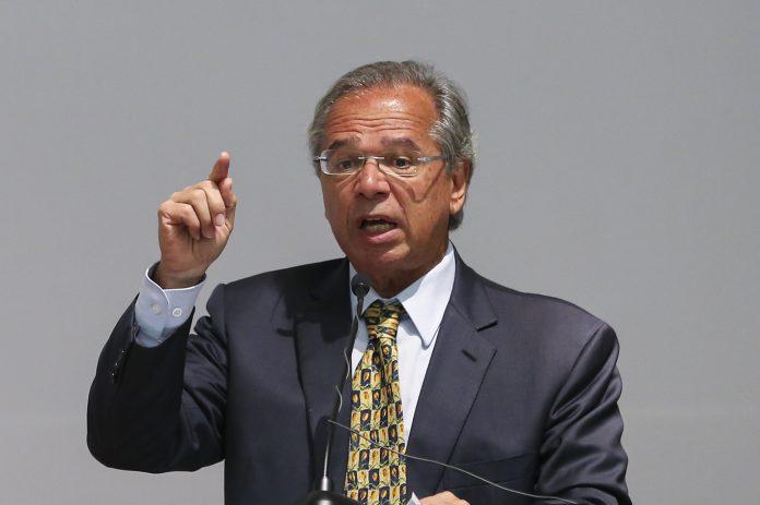 Paulo Guedes não crê que o dólar será substituído, mas perderá relevância (Foto: Washington Costa – Divulgação Ministério da Economia)