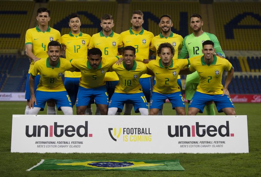 Seleção Brasileira Pré Olímpica tem a dura missão de garantir vaga para Olimpíada de Tóquio no Pré-Olímpico disputado na Colômbia (Foto: Fernando Torres/CBF)