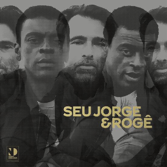 Seu Jorge e Rogê - Capa Album