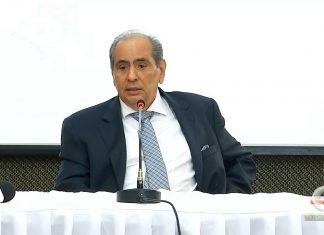 José Roberto Tadros, presidente da CNC, acredita em um 2020 melhor do que o ano passado (Foto: Reprodução da TV – Tempo Online)