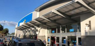 A sensibilidade de seguranças do Walmart de Tampa pode ter salvado vidas (Foto: Reprodução da TV – WFLA-TV)