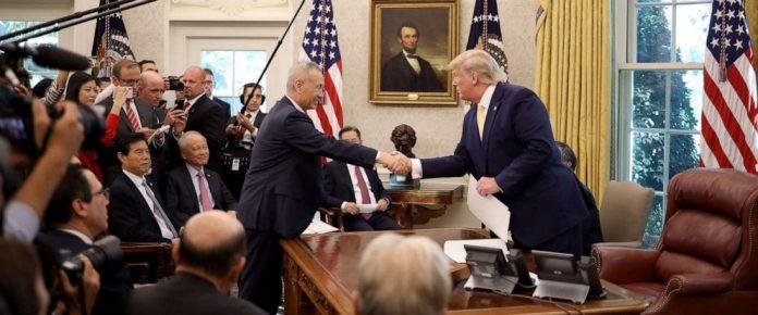 Acordo assinado entre os dois países prevê cooperação bilateral em temas ligados à propriedade intelectual, moeda e produtos agrícolas (Foto: Reprodução – Youtube)