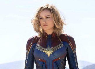 Brie Larson estrelou o primeiro filme da Marvel com uma mulher como protagonista/super-heroi (Foto: Divulgação – Disney)