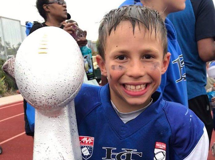 Caden Cadaval é apaixonado por esportes (Foto: Arquivo Pessoal)