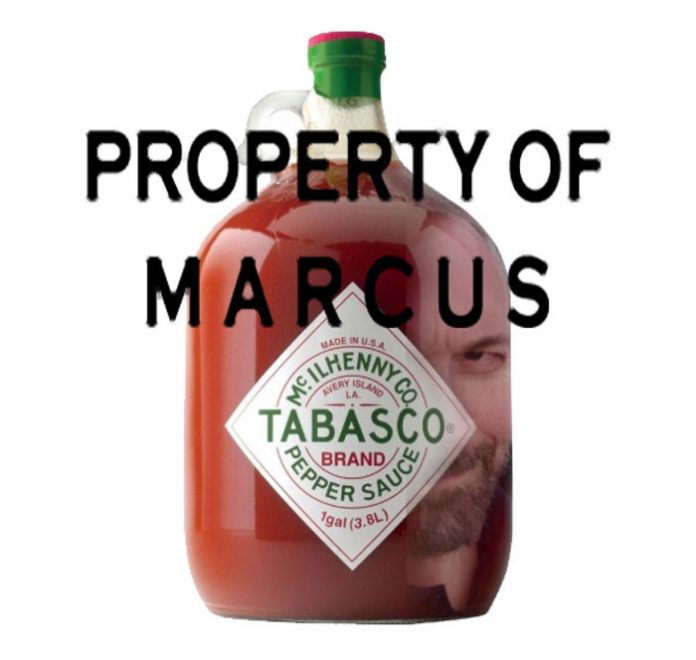 Property of Marcus