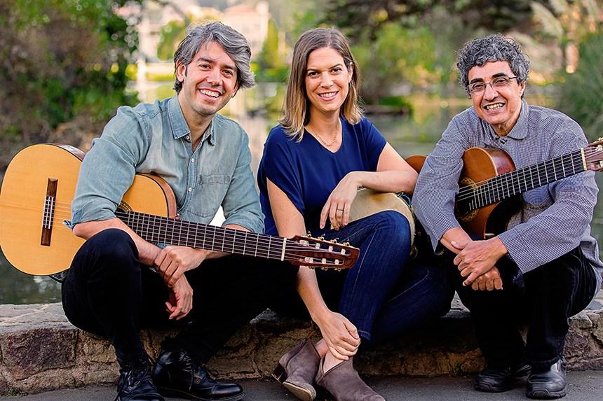 Duo Violão Brasil e Ami Molinelli (Foto: Divulgação)