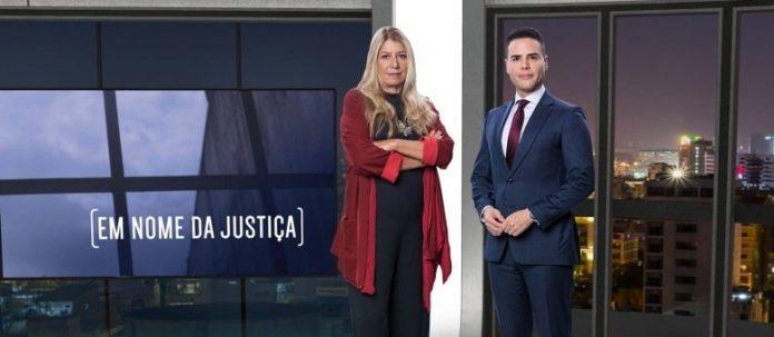 Luiz Bacci comanda Em Nome da Justiçae Ilana Casoy comenta os crimes controversos (Foto: Antonio Chahestian - Record TV)