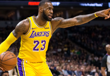 LeBron James usará a camisa nº 24 no All-Star game em homenagem a Kobe Bryant, dono da lendária camisa do Los Angeles Lakers (Foto: Site da NBA)