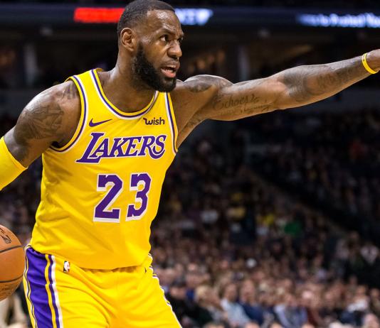LeBron James usará a camisa nº 24 no All-Star game em homenagem a Kobe Bryant, dono da lendária camisa do Los Angeles Lakers (Foto: Site da NBA)