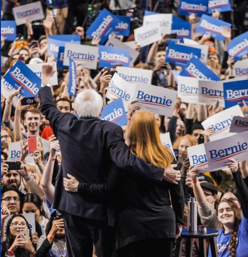 Bernie Sanders vence na Califórnia (Foto Campanha Bernie Sanders)