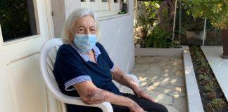 Nathalina Cilona, 96 anos, foi curada do coronavírus (Foto: Arquivo pessoal)
