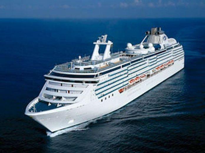 Cruzeiros foram impedidos de funcionar em todo país em março (Foto Pricess Cruises - divulgação)