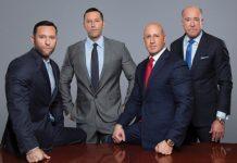 Os advogados Russell Berman, Theodore Berman, Joseph Abruzzo e Frank Biden (Foto: The Berman Law Group)