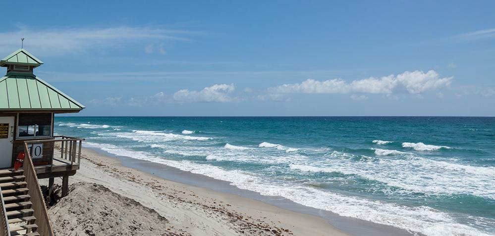 Praias Do Condado De Palm Beach Reabrem