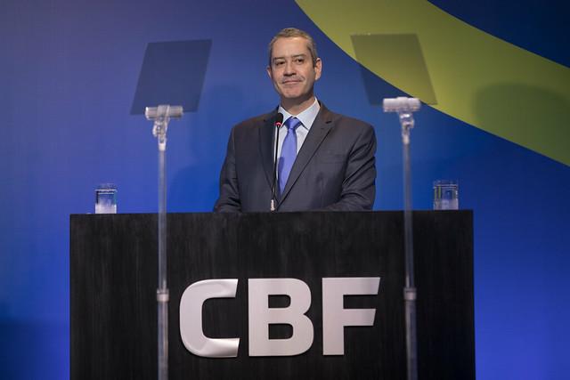 Rogério Caboclo, presidente da CBF, anuncia ajuda de R$ 100 milhões aos clubes da Série A