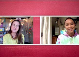 Heloisa Gomyde entrevista a modelo Lais Ribeiro