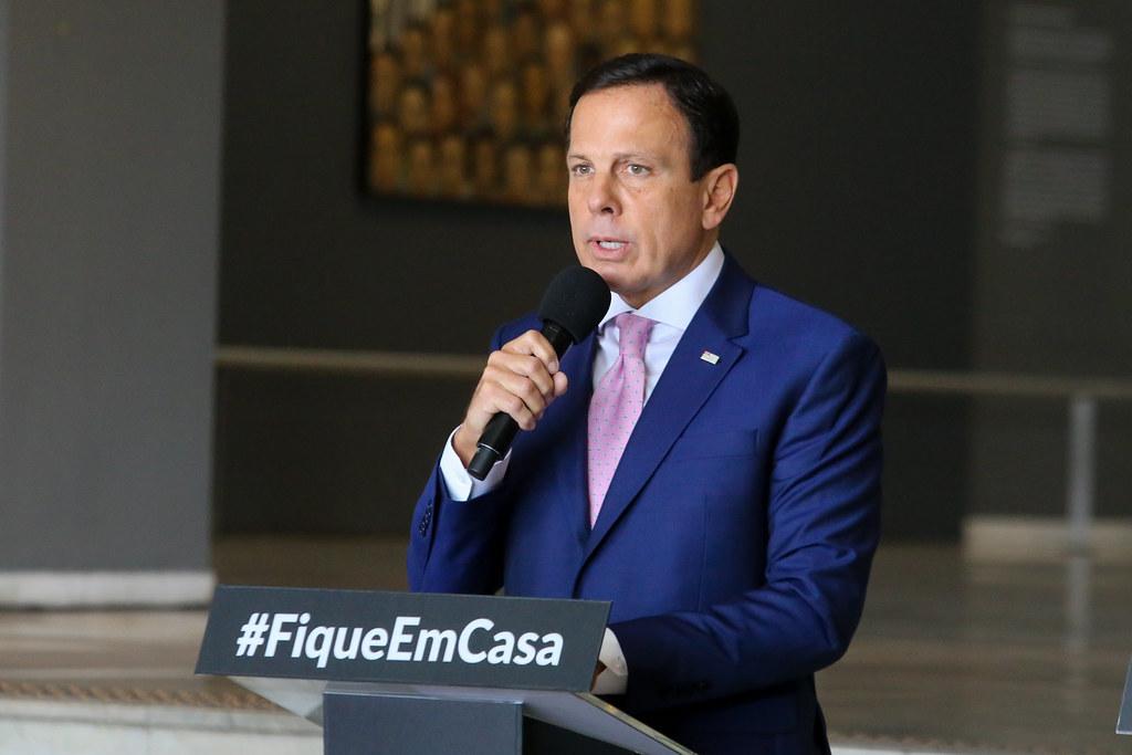 Governador João Doria apenas libera a volta aos treinos dos clubes paulistas em 1º de julho