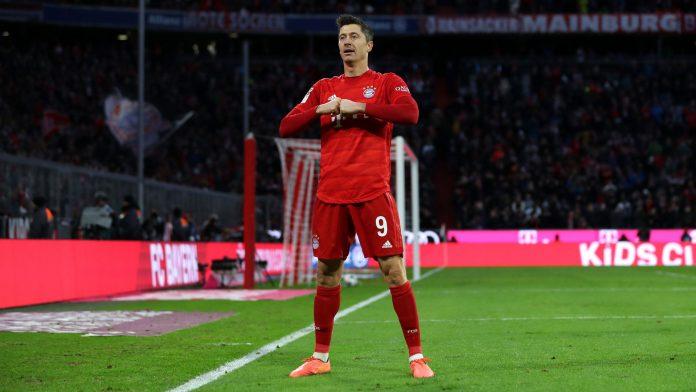 Roobert Lewandowski é sério candidato ao troféu Chuteira de Ouro na Europa nesta temporada