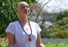 Luciana Lobo, professora de yoga e mestre em Microbiologia (foto: arquivo pessoal)