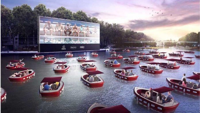 Projeto Floating Boat Cinema (Foto: Divulgação)